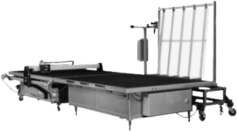 Automatic Free Fall Glass Loading Table