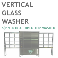 "60"" Vertical Glass Washer"