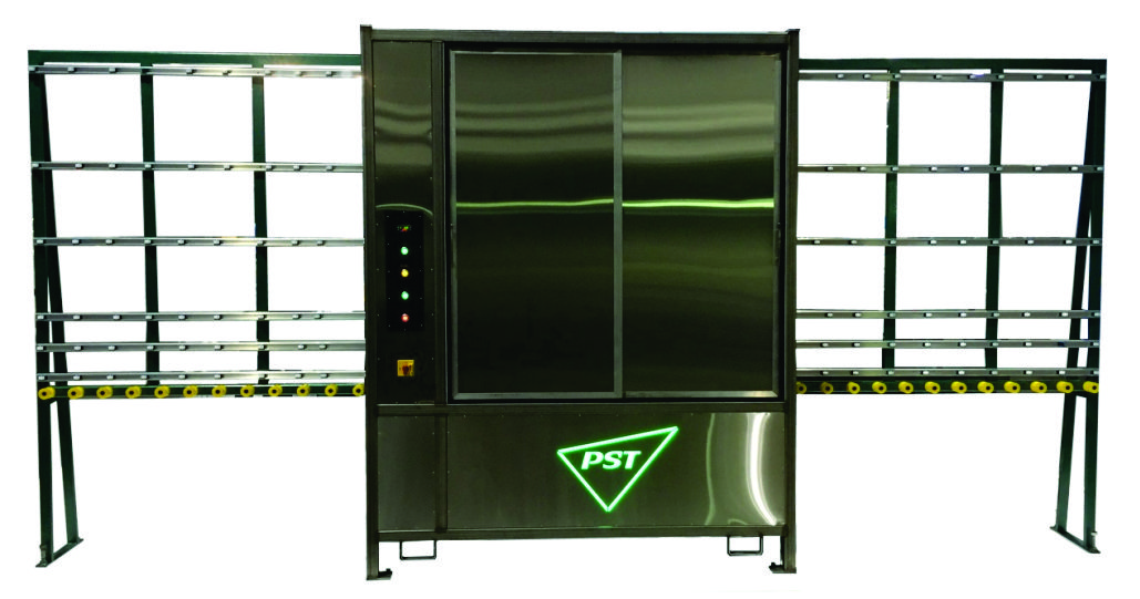 60 Inch Vertical Open Top Glass Washer
