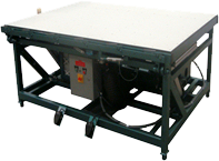 Hydraulic Tilt Top Grid Applicator Table