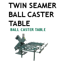 Twin Seamer Ball Caster Extension Table